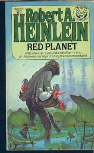 """""""Червената планета"""", от Робърт Хайнлайн"""