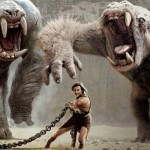 Джон Картър в епична схватка с бели маймуни (5-минутен клип)
