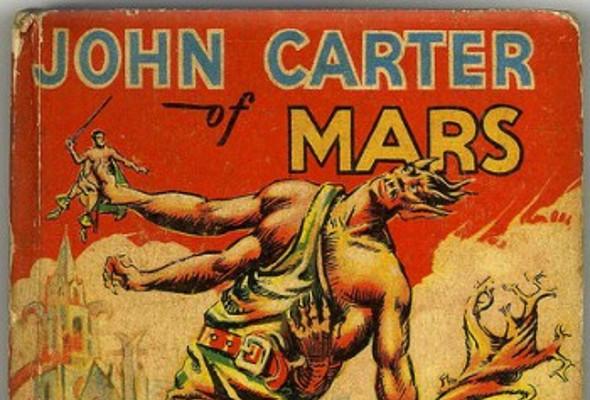 Джон Картъровия Марс на Едгар Райс Бъроуз (Ана Хелс)