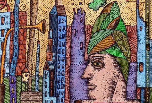 Нарисувай ми град, от Милен Миланов (фантастичен разказ)