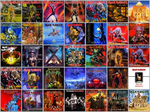Всички албуми на Iron Maiden