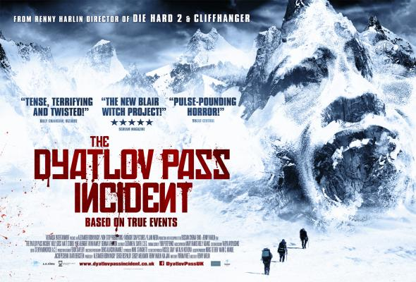 Плакат на Дяволският проход на Рени Харлин (Колонката на Cinemascrotum)