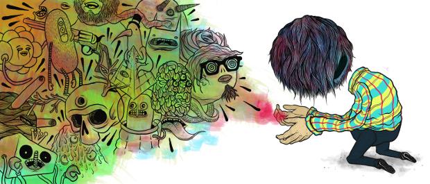 Илюстрация към Трудно завръщане, от Радко Пенев (разказ)