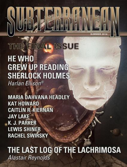 Корица на Subterranean Press Magazine, Summer 2014