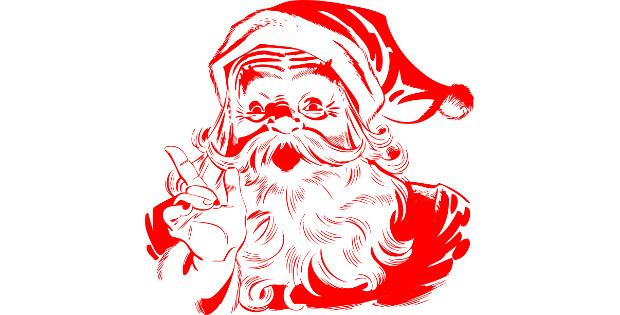 Илюстрация към Добрия Дядо Мраз, от Калоян Захариев, разказ