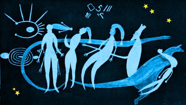 Илюстрация към Красотата ще спаси вселената, от А.В.Торът (фантастичен разказ)