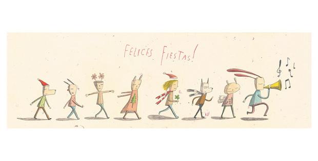 Илюстрация към Новогодишно сборище на трубадури