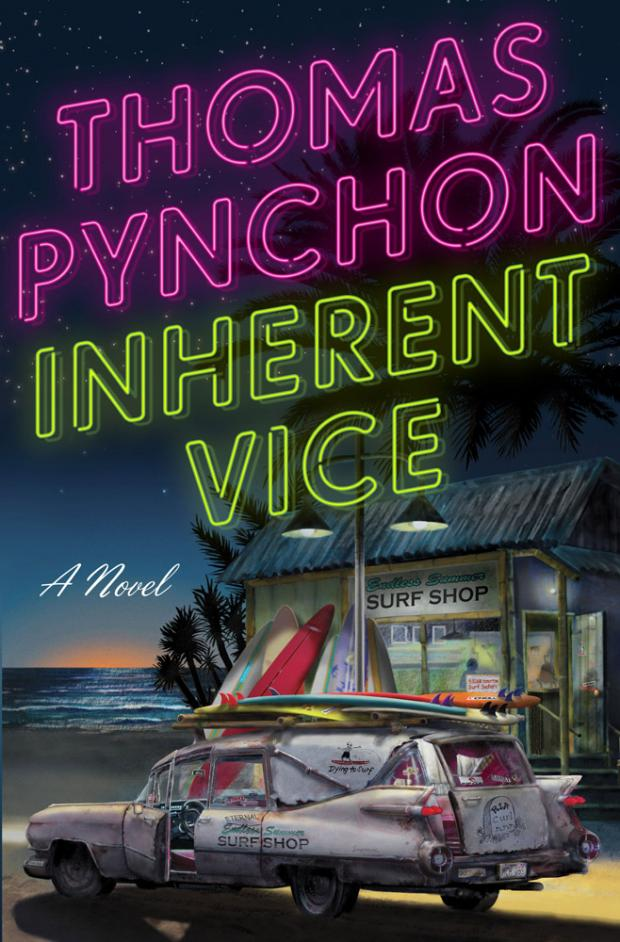 Корица на Inherent Vice, от Томас Пинчън