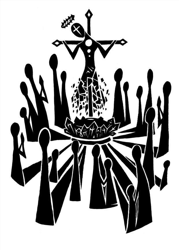 Илюстрация към Божият дъх, от Торстен Кюпер (разказ)
