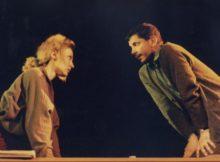 Ваня Цветкова и Веселин Ранков в пиесата на Агоп Мелконян Страхът живее в нас