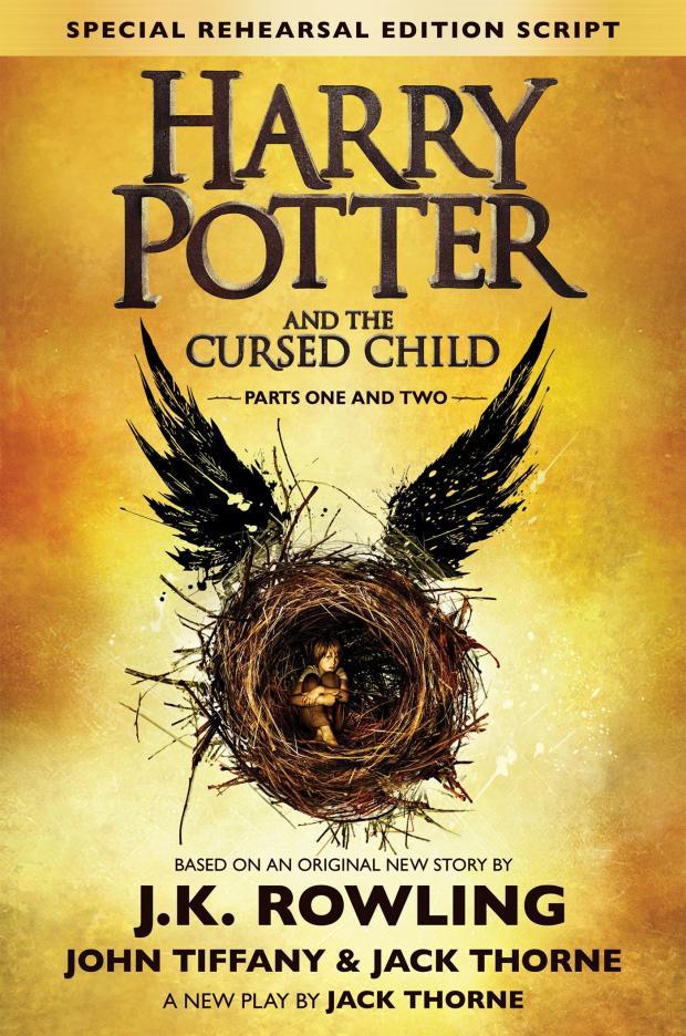 Корица на Harry Potter and the Cursed Child, от J.K. Rowling