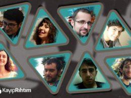 Колаж с лицата на екипа в Kayıp Rıhtım