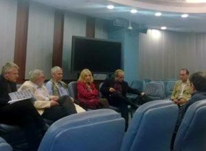 Снимка на част от участниците в кръглата маса