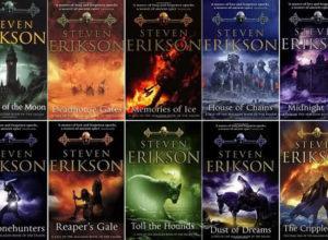 Корици на книги от Стивън Ериксън
