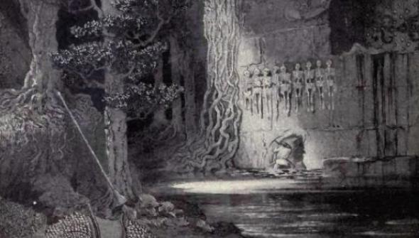 """""""Богатството на гибелините"""" от Лорд Дансени, фентъзи разказ"""