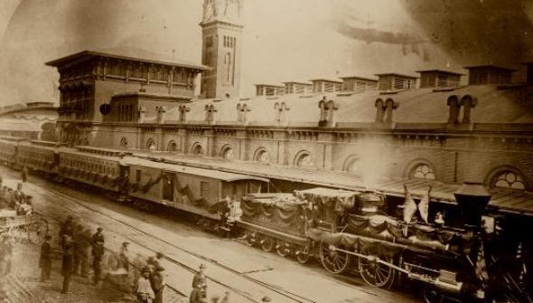 Морийн Ф. Макхю – Влакът на Линкълн – фантастичен разказ