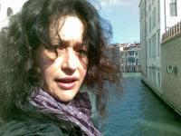 Снимка на Кристин Димитрова във Венеция