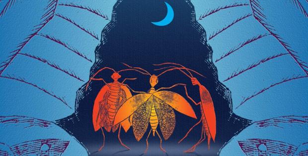 Илюстрация към Тенарон, от Лена Крун