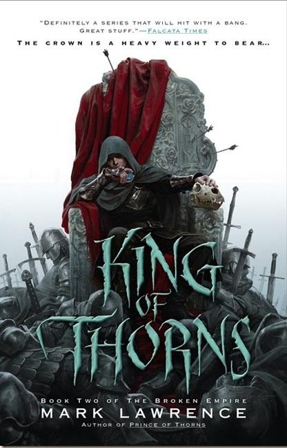 Корица на King of Thorns, by Mark Lawrence