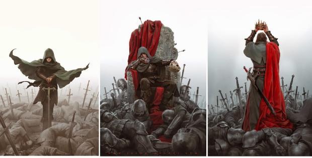 Илюстрация към Принцът на тръните - Марк Лорънс (Конкурс за авторско ревю)