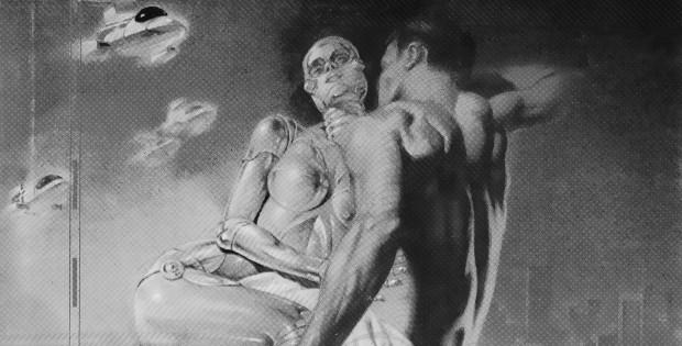 Илюстрация към Филип К. Дик: Беглец по острието