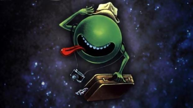 Илюстрация към Пътеводител на галактическия стопаджия