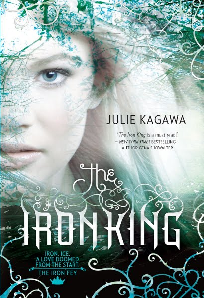 Корица на The Iron King, by Julie Kagawa