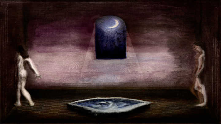 Лунна жена, от Милена Вражалска (разказ)