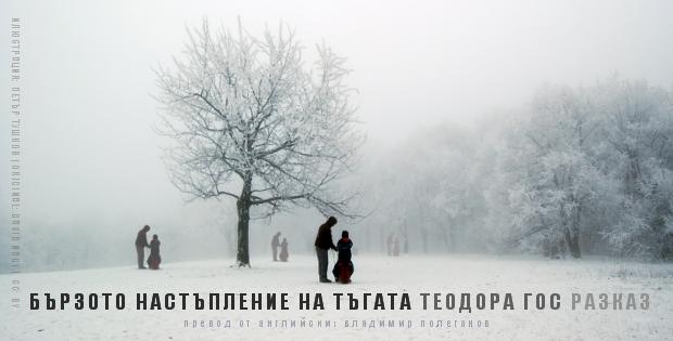 Бързото настъпление на тъгата, от Теодора Гос (разказ)