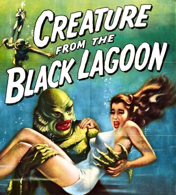 Илюстрация към Създание от Черната лагуна