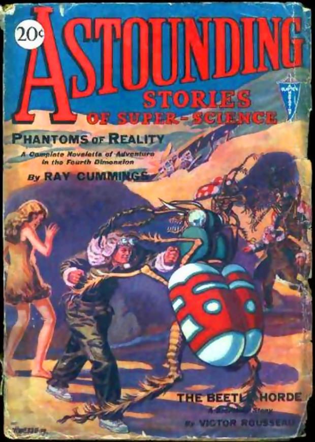 "Илюстрация към Метаморфозата на сп. ""Astounding Science Fiction"""