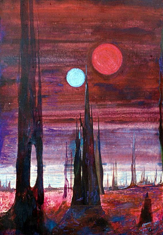 Изображение Чуждопланетна прирора 4, художник: Стефан Лефтеров