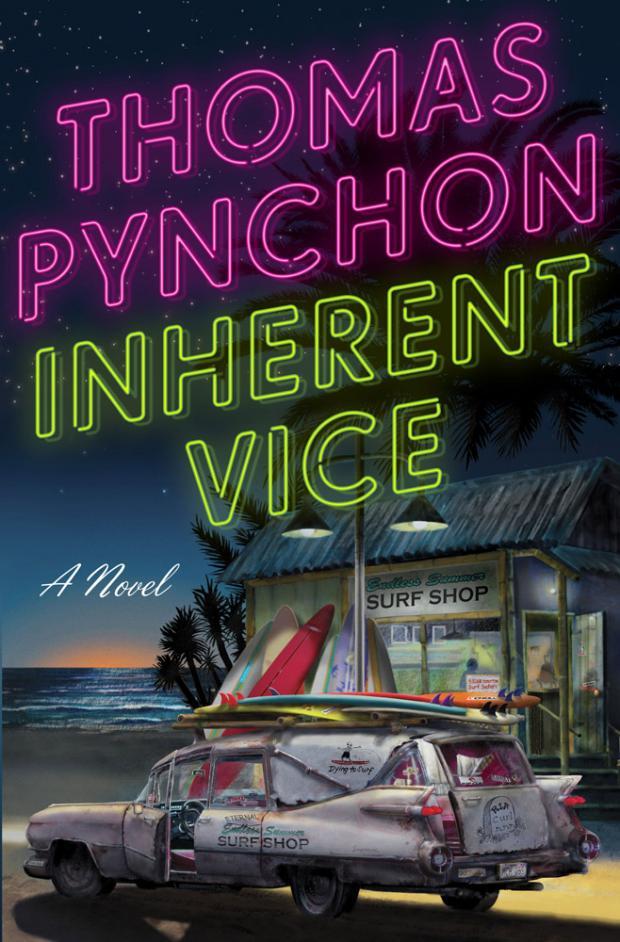 Корица на Inherent Vice, от Томас Пинчън