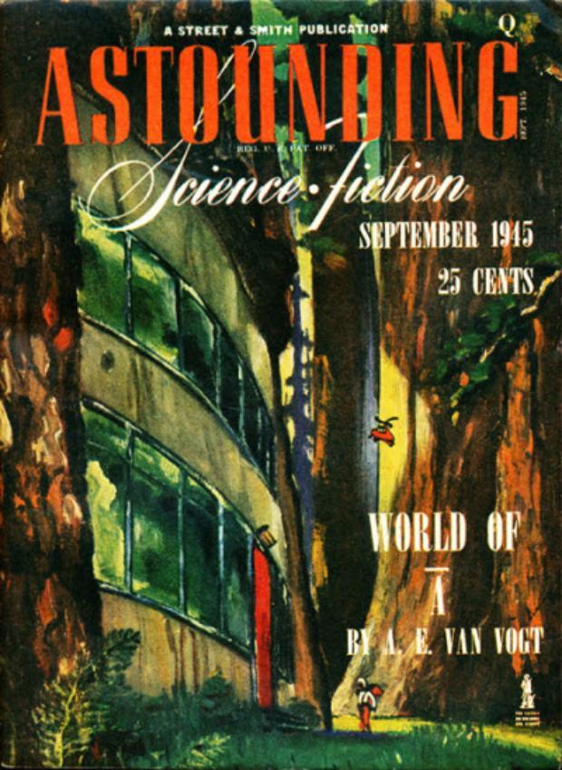 """Илюстрация към Награди """"Хюго"""" за най-добър фантастичен разказ: 1946 г. - Uncommon Sense на Хал Клемънт"""