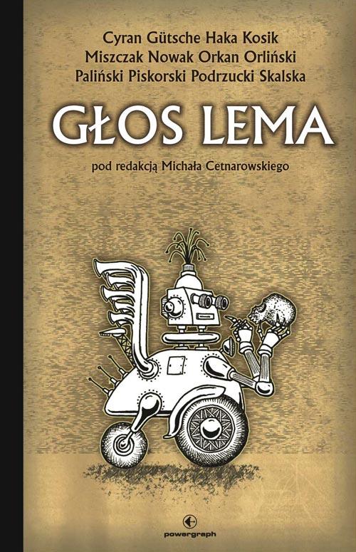 Корица на Гласът на Лем (Głos Lema), антология