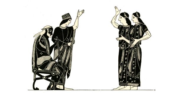 """Илюстрация: """"Инициацията"""" от Яница Радева (откъс)"""