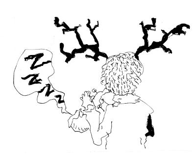 """Илюстрация: Из """"Микро"""" от Мартин Колев (пет разказа) - разказ 5"""