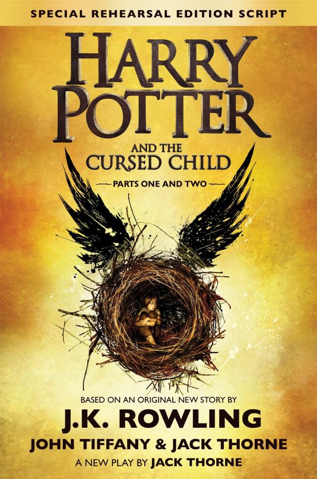 Корица на Harry Potter and the Cursed Child, от J.K. Rowling