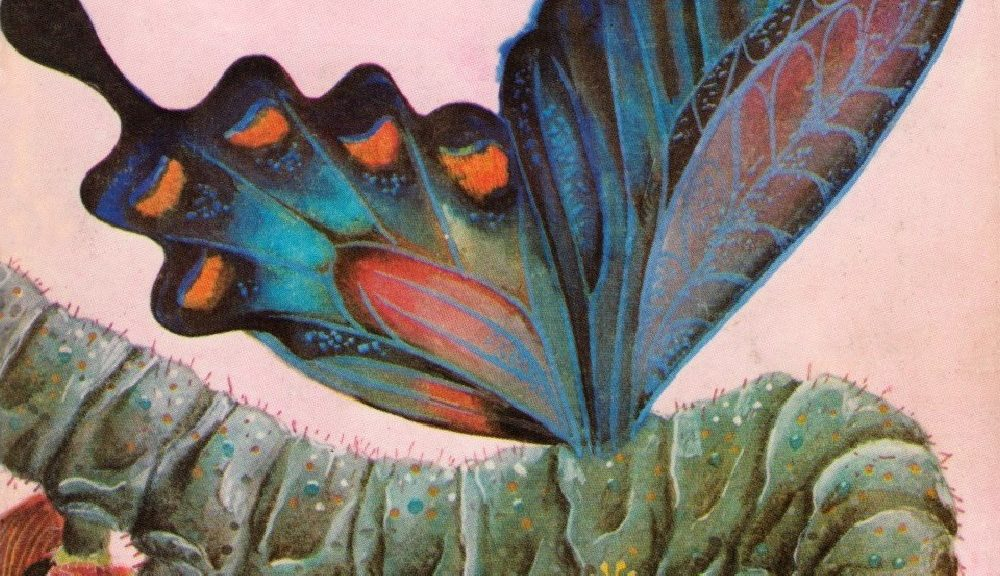 Библиотека Галактика № 17 – Сините пеперуди