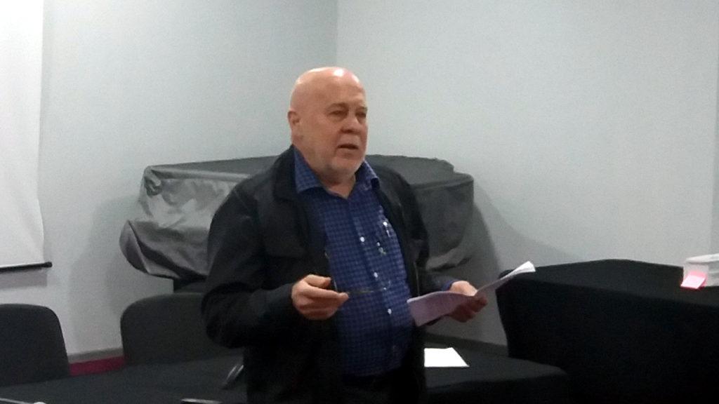 Фрагмент от честването на 70 години от рождението на Агоп Мелконян